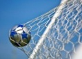 . . . back of the net