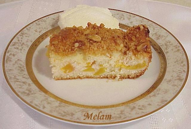 Dessert (gâteau) aux pêches Desser10