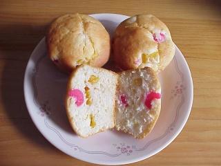 Muffins à la salade de fruits Muffin20