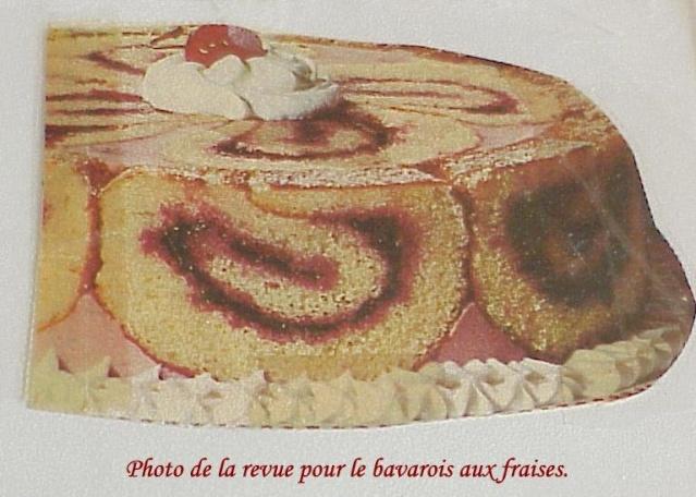 Bavarois aux fraises Photo_10