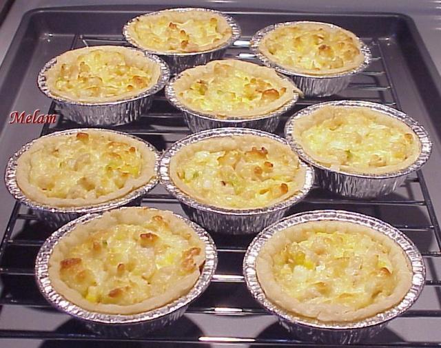 Tartelettes au poulet (entrée) Tartel12