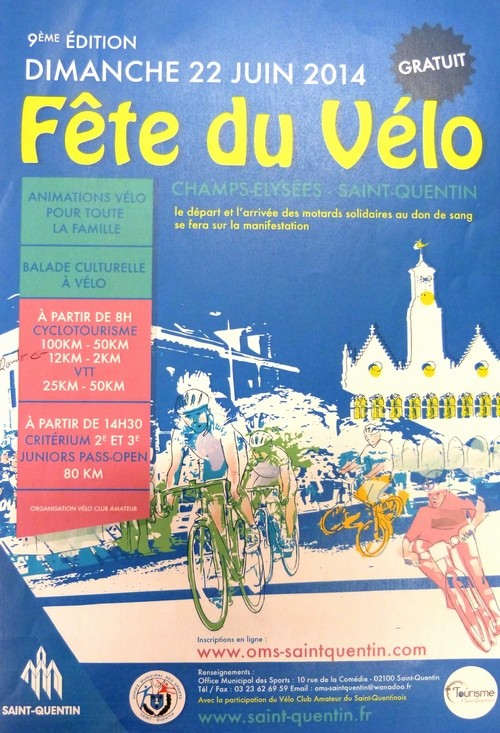 St Quentin fête du vélo 22/06/14 Fete_d11