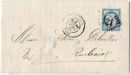 Fin de l'étoile parisienne, mars 1876 Anzin_10
