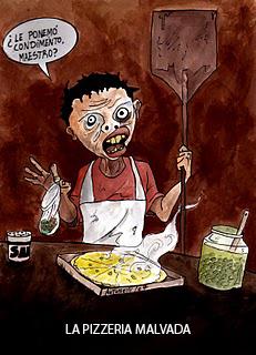 Alianza La Pizzería Malvada