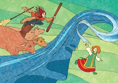 Baba-Yaga et la sorcière Biblid11