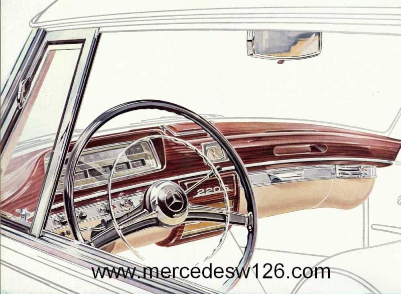 Catalogue de 1959 sur les W180 220 S/SE ponton coupé & cabriolet Ponton14