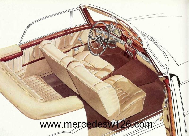 Catalogue de 1959 sur les W180 220 S/SE ponton coupé & cabriolet Ponton17