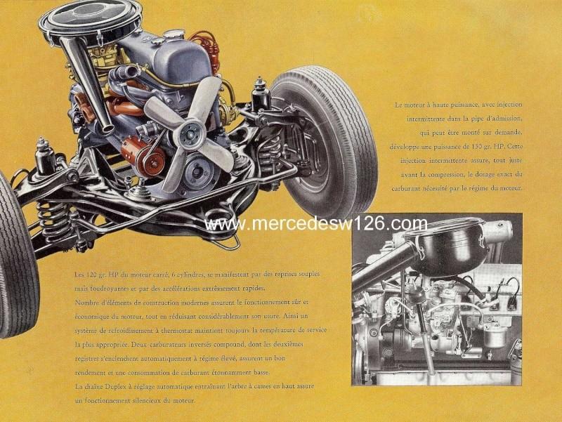 Catalogue de 1959 sur les W180 220 S/SE ponton coupé & cabriolet Ponton22
