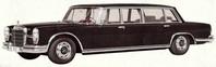 W100 : la voiture d'apparat des années 60/70
