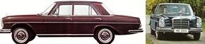 W108 & W109 : les Classes S de la fin des années 60