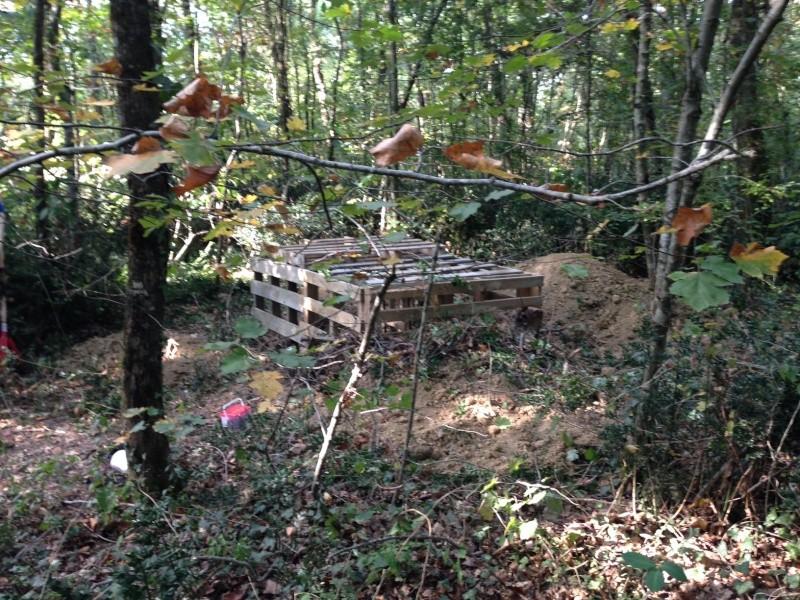 1er bunker semi enterrée Photo10