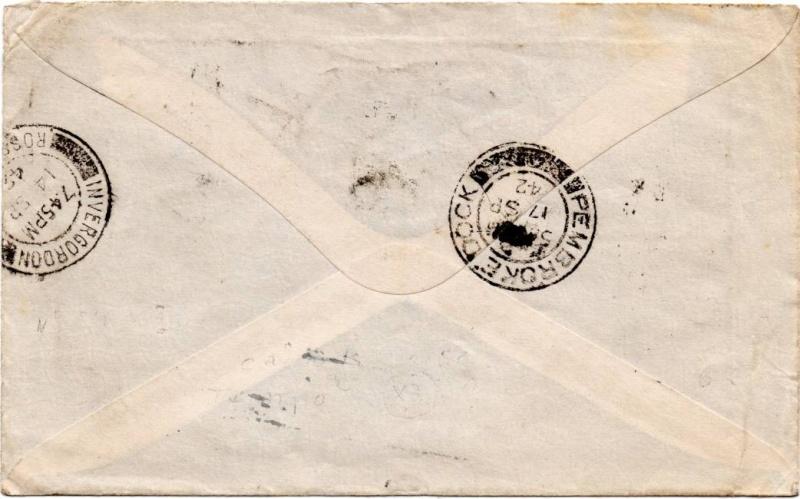 1941 : une lettre pour l'armée française libre 1942_f12