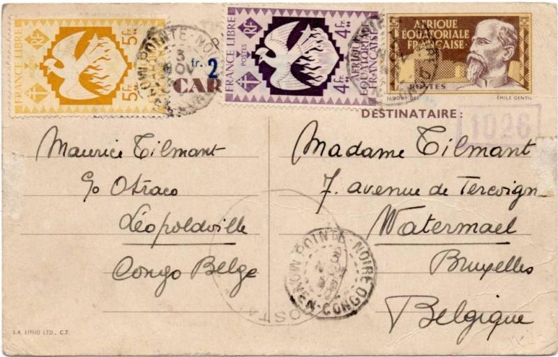 Utilisation des entiers Iris et Pétain et cartes interzones hors de France 1944_a12