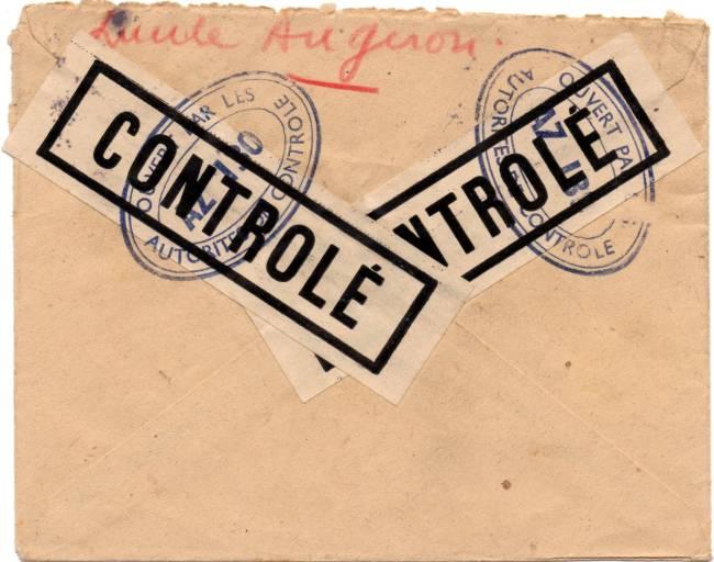 1945 - censure AZ130 contrôle de la presse 1945_c13