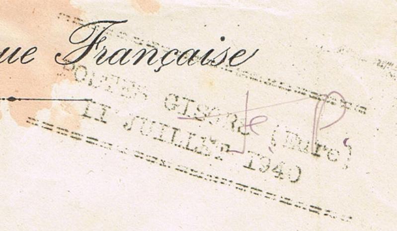 juillet 1940 Forcinal Gisors Ccf16010