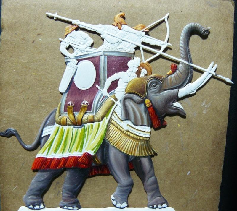 Elephants de guerre - Gottstein - plat 30mm  les 2 finis 13_oct10
