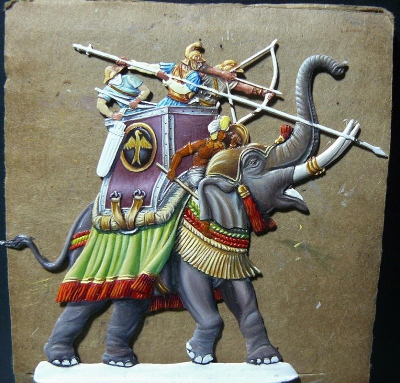 Elephants de guerre - Gottstein - plat 30mm  les 2 finis 16_oct10