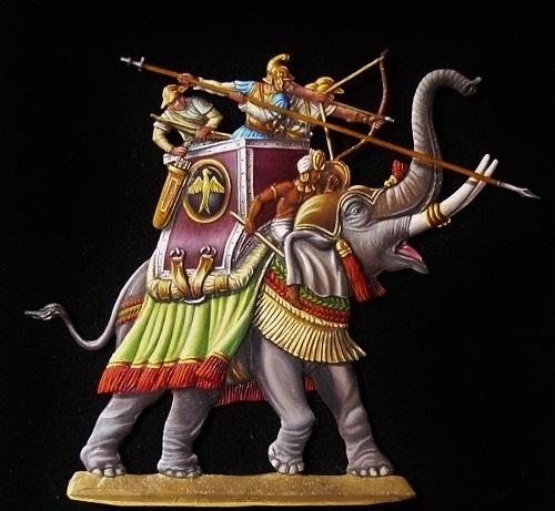 Elephants de guerre - Gottstein - plat 30mm  les 2 finis 18_oct10