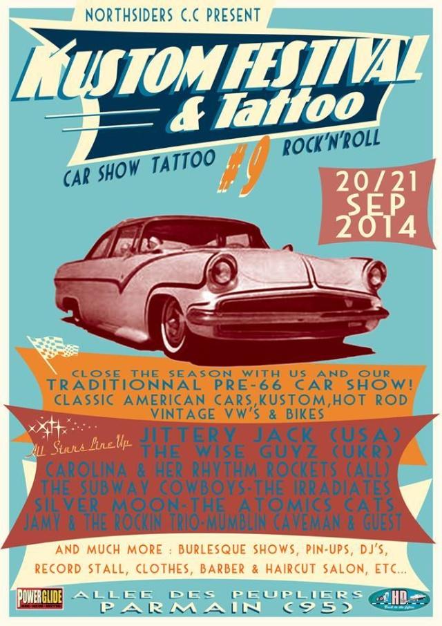 PARMAIN 95 - Kustom and tatoo show - 20/21 sept 60359010