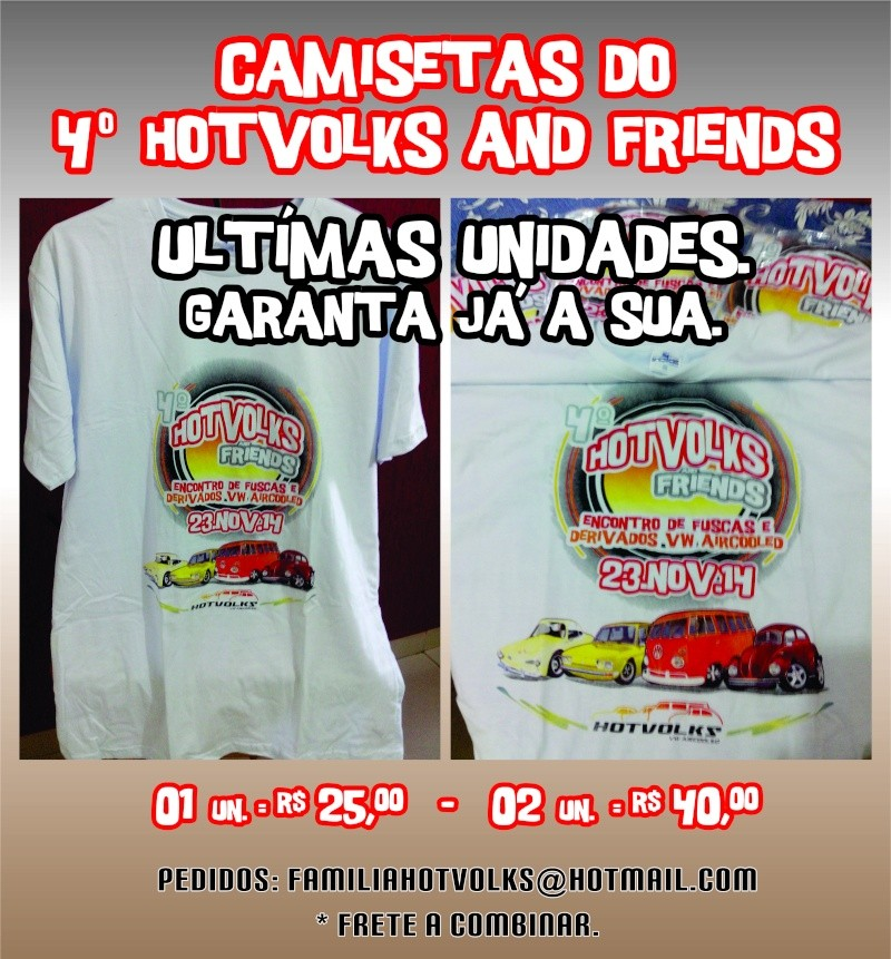 Camisetas 4º Hotvolks and Friends Camise10