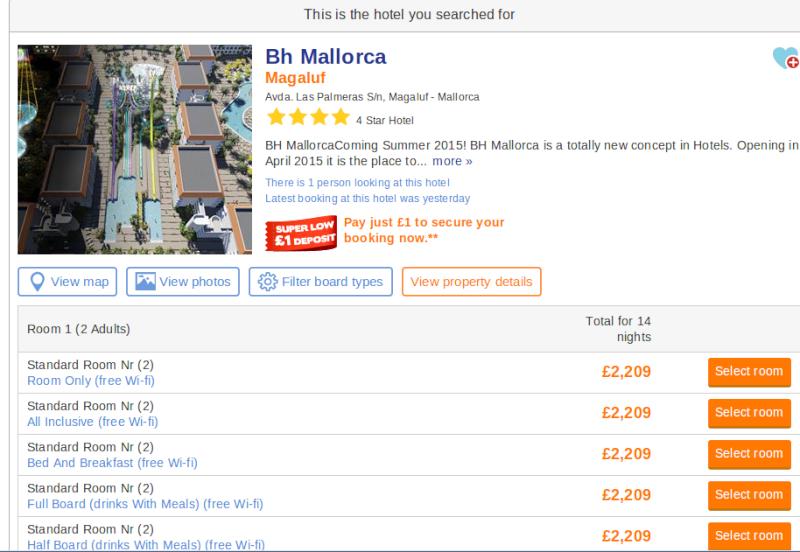 Mallorca Rocks becomes BH Mallorca 2015 Screen16