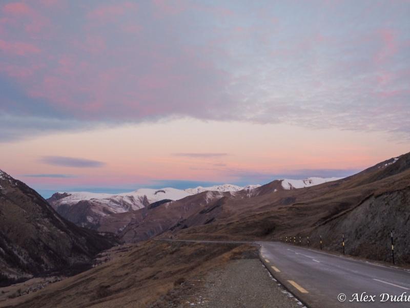 Paysages de montagne au lever du jour!!!! Pc100010