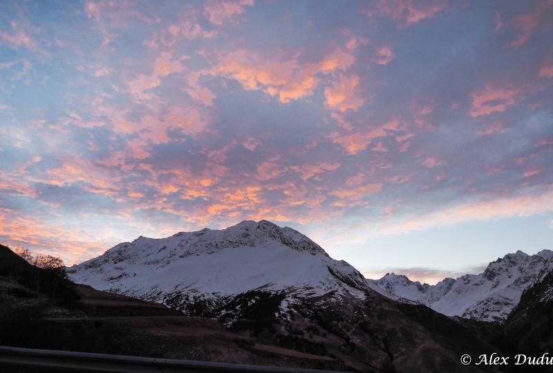 Paysages de montagne au lever du jour!!!! Pc100011