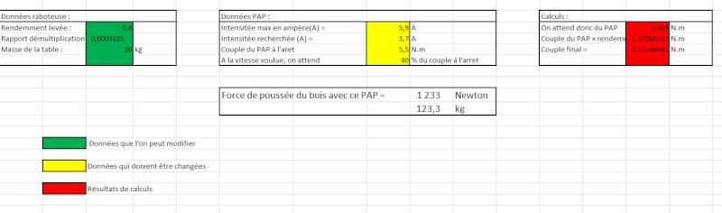Motorisation table raboteuse (voir p.13) et amélioration R/D Holztech FS320 (première partie)  - Page 3 Captur11