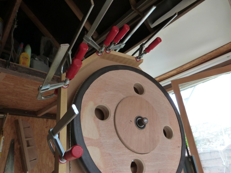 [Fabrication] Scie à ruban en bois - Page 6 P1040824