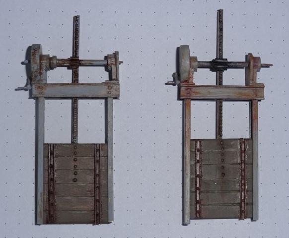 Stauwehr (Wasserschütz) in 1:45 Dsc06515