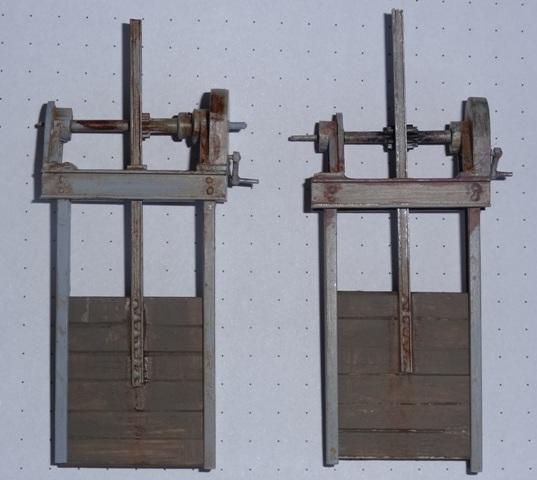 Stauwehr (Wasserschütz) in 1:45 Dsc06516
