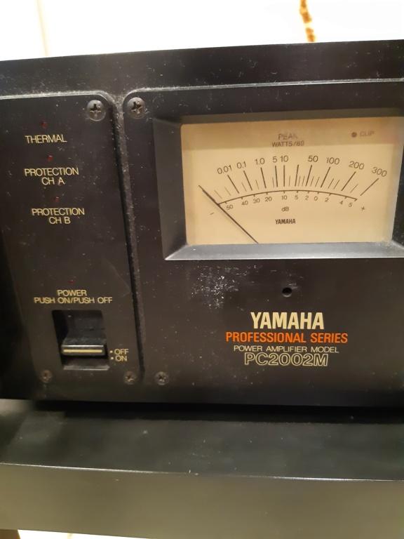 Yamaha PC2002M power amfilier(used)Sold 20210852