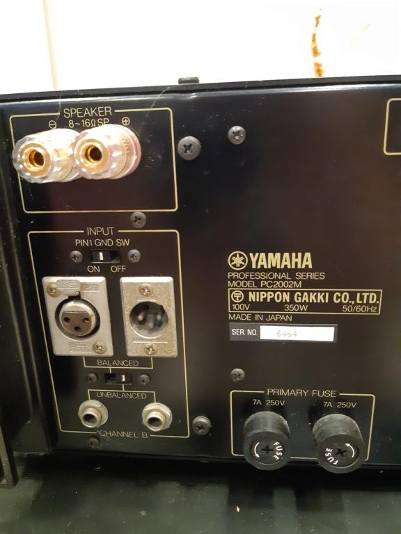 Yamaha PC2002M power amfilier(used)Sold 20210858