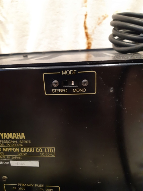 Yamaha PC2002M power amfilier(used)Sold 20210859