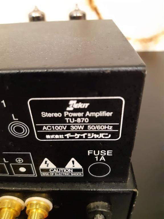 Elekit 6BM8 tube amplifier(used) 20210878