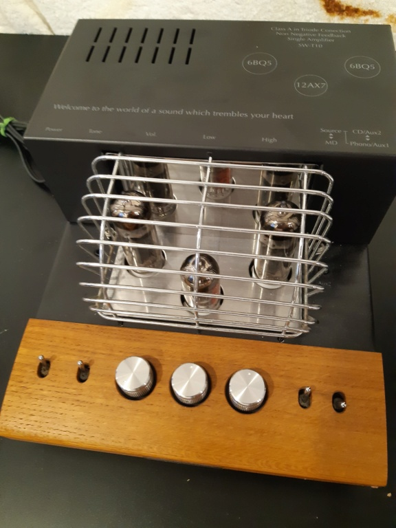 sound warrior tube amplifier(used) 20210881