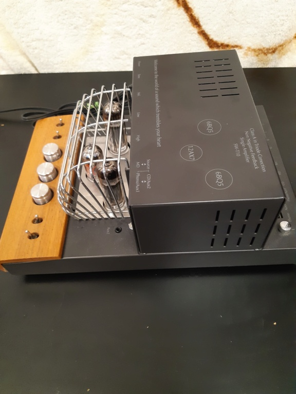 sound warrior tube amplifier(used) 20210883