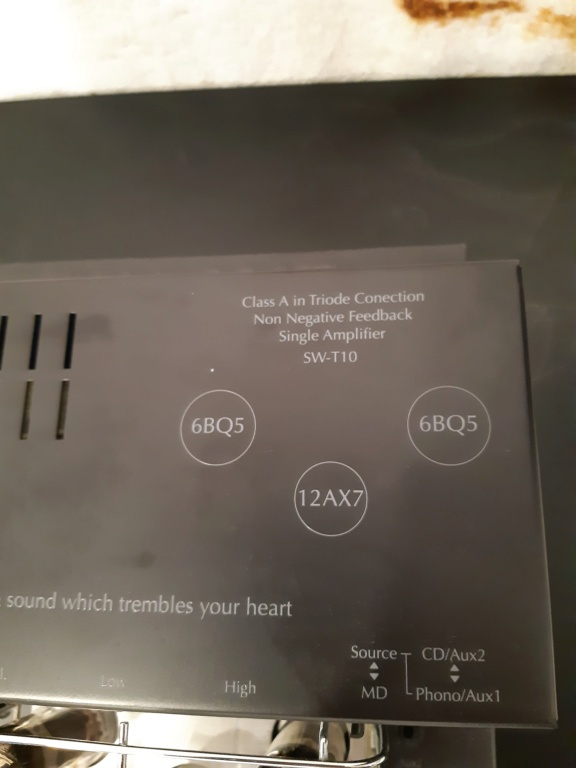 sound warrior tube amplifier(used) 20210884