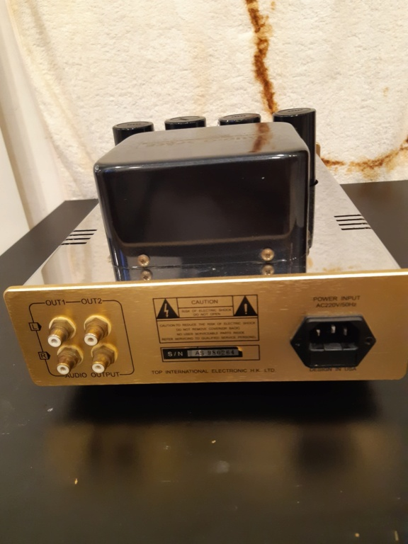 Audio space Line-3 tube preamplifier(used)sold 20210892