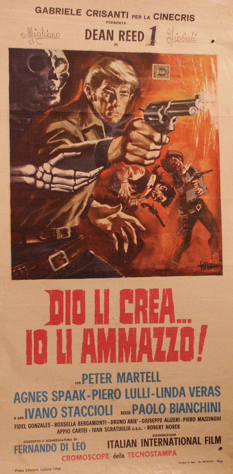 Dieu les crée ... moi, je les tue. Dio li crea...Io li ammazzo - 1967 - Paolo Bianchini  Pict0110