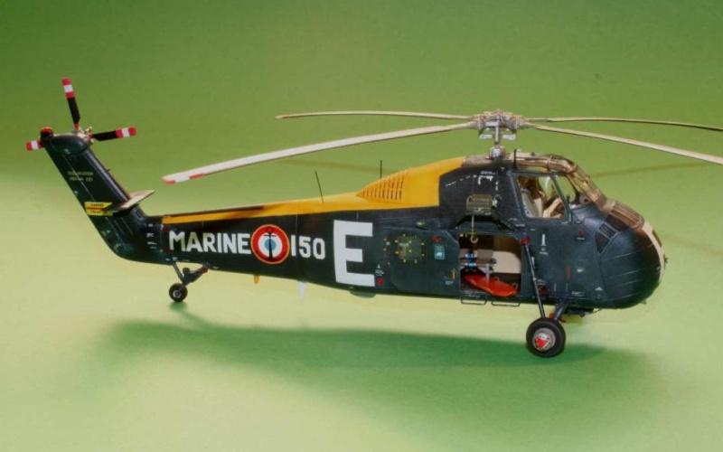 UH-34A hobbyboss 1/72 0110