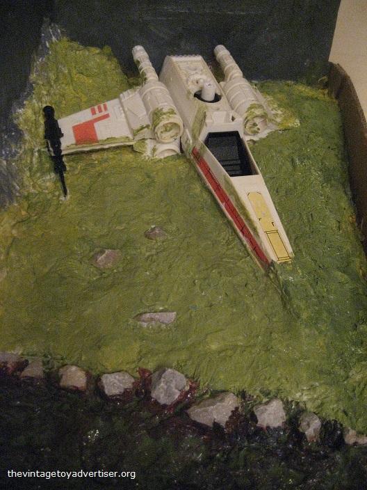 Dagobah diorama - X-Wing landing  B_dago10