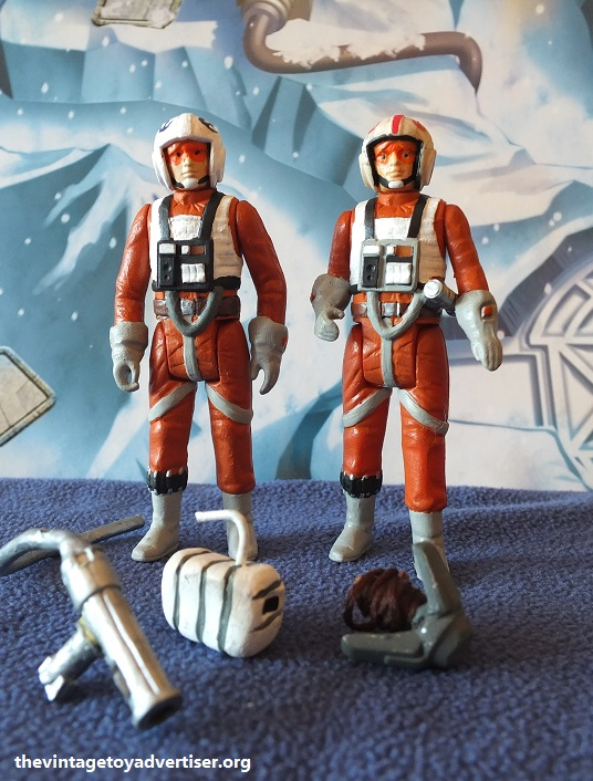 X-Wing and Snowspeeder Personnel - custom figures Dak_an11