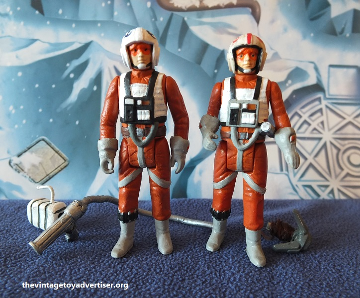 X-Wing and Snowspeeder Personnel - custom figures Dak_an12
