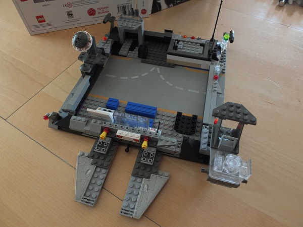 LEGO Millenium Falcon (the budget version) =) Falcon10