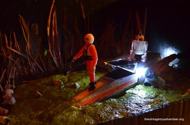 Dagobah diorama - X-Wing landing  Star_w14