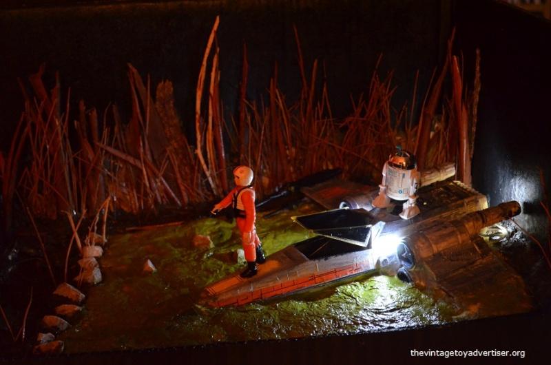 Dagobah diorama - X-Wing landing  Star_w15