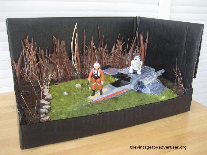 Dagobah diorama - X-Wing landing  X_wing13