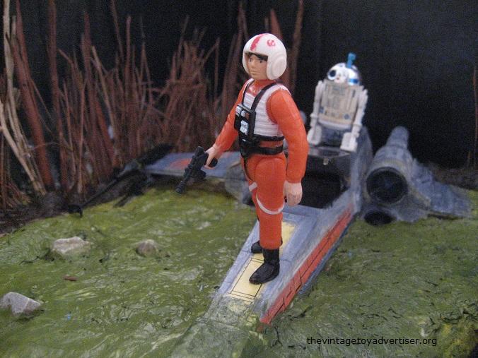 Dagobah diorama - X-Wing landing  X_wing14