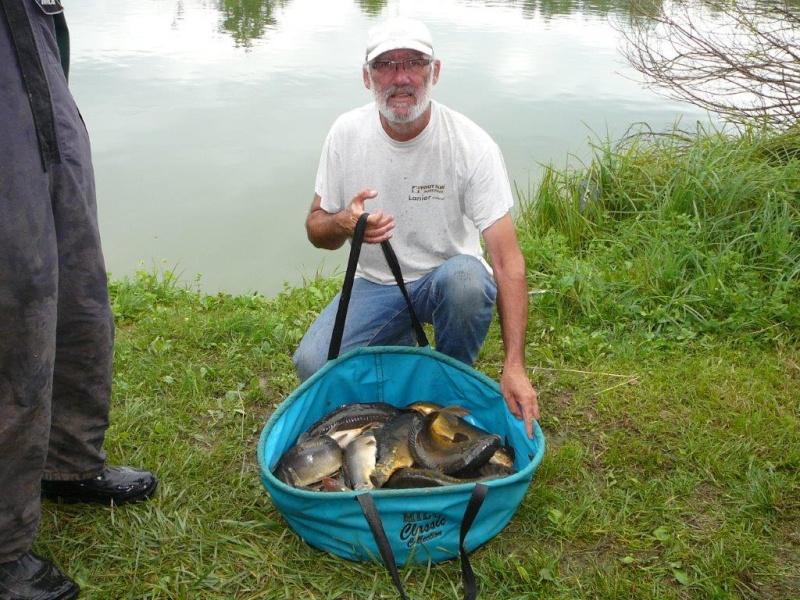 Festival de pêche sur le plan d'eau de Chuzelles (38) les 12 et 13 JUILLET P1140124